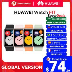 Smartwatch Huawei Watch Fit | R$421