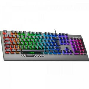 Teclado Gamer Mecânico RGB CRUISER Dark Grey FORTREK | R$ 319