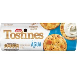 [Prime + Recorrência] Biscoito, Cracker, Água, Tostines, 200g | 8 unid | R$ 2,37 cada