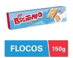 Biscoito, Flocos, Passatempo, 150g ( Min.5 + recorrência) | R$1,46