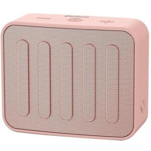 Caixa de Som Philco Go Speaker Pbs10btrg Bluetooth USB 10W Hands Free para Atendimento de Chamadas - Rosa R$80