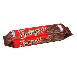 [PRIME] [Compre4 pague 3] Biscoito Calipso Coberto Chocolate, 130g [R$: 3,75 Unidade]