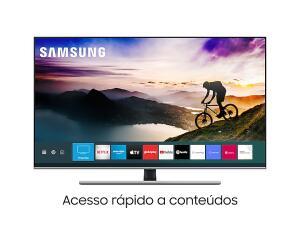"""Smart TV QLED 55"""" 4K Samsung R$3869"""