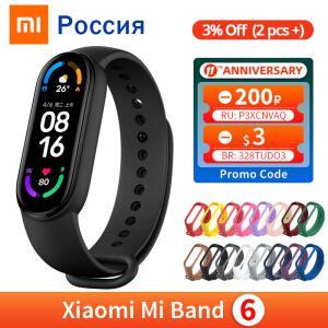Smart band Xiaomi Mi Band 6 | R$171