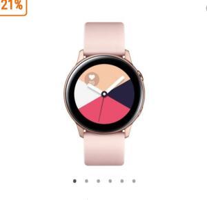 Smartwatch Samsung Galaxy Watch Active, Wi-Fi, Rose - R$705