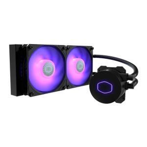Water Cooler Cooler Master MasterLiquid 240mm ML240L V2 RGB - R$500