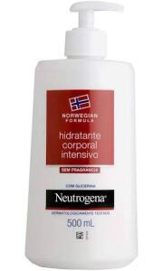 [Recorrência] Hidratante Intensivo Corporal Norwegian Sem Fragância, Neutrogena, 500ml | R$61
