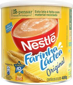 (Prime + recorrência) Farinha Láctea, Nestlé, Tradicional, 400g | R$10