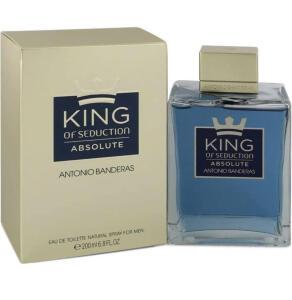 Antonio Banderas King of Seduction Absolute Edt 200Ml, Antonio Banderas R$149