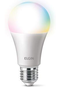[PRIME] Smart Lâmpada Led Colors, 10w Bivolt Wi-FI - Elgin, compatível com Alexa | R$ 60