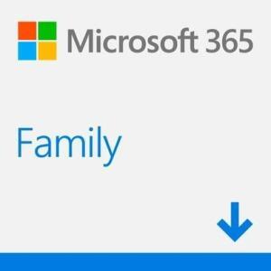 Licença Microsoft Office 365 Family ESD 6 PCs 32/64 Bits   R$200