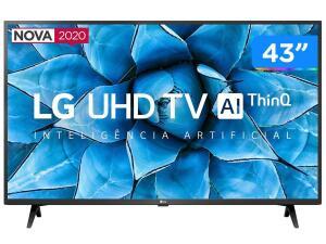 "Smart TV LED 43"" UHD 4K LG 43UN7300PSC   R$1994"