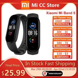 [Novos usuário] Smartband Xiaomi Mi Band 5 | R$110