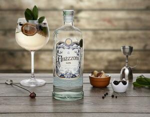 (Cliente Ouro) Gin Amázzoni Tradicional - 750ml   R$56