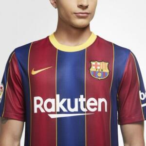 Camisa Nike Barcelona I 2020/21 Torcedor Pro Masculina (P e PP) - R$130