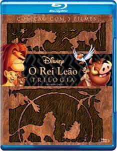 O Rei Leão - Trilogia [Blu-Ray] R$56