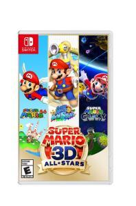 Jogo Nintendo Switch Super Mario 3D All-Stars - R$360