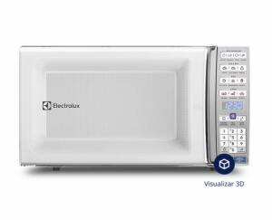 Micro-ondas de bancada Branco com Função Tira Odor e Manter Aquecido 34L | R$516