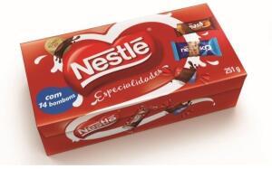 [APP] Caixa Bombom Especialidades 251g Nestlé - a partir de 2 Und | R$7