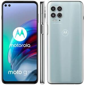 Smartphone Motorola Moto G100 Luminous Sky 256GB, 12GB RAM | R$3399