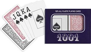 [Prime] Baralho 1001 Plástico Naipe Grande | R$10