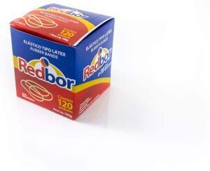 [Prime] Red Bor Elástico Látex, Multicolor 120 unidades | R$3,70