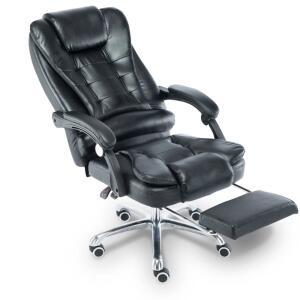 Cadeira escritório Giratória com apoio para os pés Big Boss - Preta - LMS-BY-8436-T3 R$1005