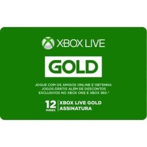 [APP] Gift Card Digital Xbox Live 12 Meses R$180