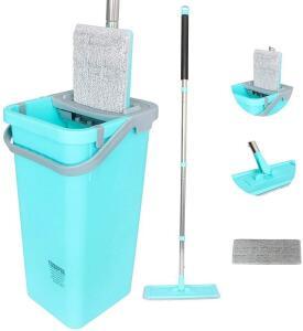 Balde Limpador Multiuso Wash & Dry Fast Mop Tssaper   R$100
