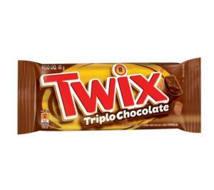 Chocolate Triplo TWIX 40g R$1,79