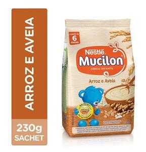Cereal Infantil, Arroz e Aveia, Mucilon, 230g ( Min.2+ recorrência) | R$3