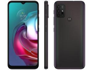 "[Magalupay R$1238 ]Smartphone Motorola Moto G30 128GB Dark Prism 4G - 4GB RAM Tela 6,5"" R$ 1538"