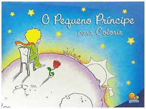 O pequeno príncipe para colorir Capa comum | R$5