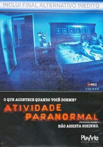 ATIVIDADE PARANORMAL -DVD | R$14