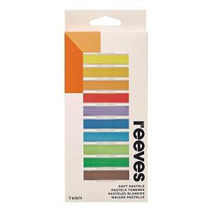 Reeves Pastel Seco 12 Cores, 8791125, Colorido | R$31