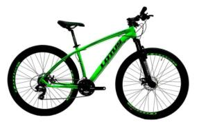 (AME R$1479) Bicicleta Mtb Alúminio Cairu Lotus Aro 29 21 Marchas Shimano Freio À Disco Quadro 17.5 | R$1.654