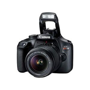 Kit Câmera Digital Canon EOS Rebel T100 Premium Kit com Lente EF-S 18-55mm + EF-S 55-250mm Preto | R$2.299