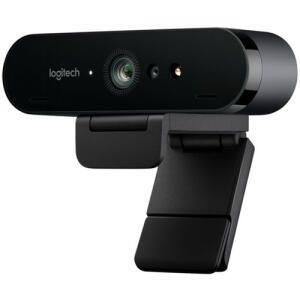 [Reembalado] Webcam Logitech Brio 4k Pro Full Hd Tecnologia Hdr Rightlight 3 | R$491