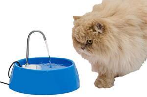 Fonte para Gatos Aqua Mini Bivolt Azul Amicus | R$80