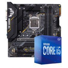 Kit Upgrade, Intel i5 10400F, ASUS TUF Gaming B460M-Plus | R$1819