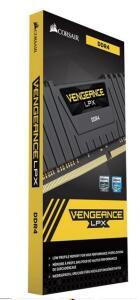 (REEMBALADO) Memória Gamer Corsair Vengeance Lpx 8GB 3000mhz Ddr4 C16 Preto | R$281
