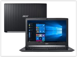 [Reembalado] Notebook Acer Aspire A515-51-58DG Intel Core I5 4GB | R$ 2700