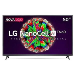 Smart TV LG 50´ 4K NanoCell ThinQAI 50NANO79SND | R$2549