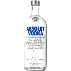 3 unidades | Vodka Absolut 1 Litro | R$185