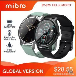 [Primeira compra] Mibro Air Smartwatch | R$116