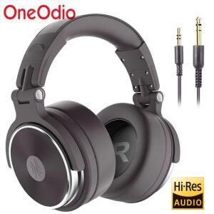 Oneodio Pro-50 Fone de ouvido estéreo com fio, com microfone | R$104