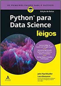 Livro - Python para data science para leigos (edição de bolso) | R$35