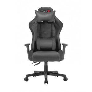 Cadeira Star Game Performer Reclinável Em Couro PU Preta - WG-03 | R$764