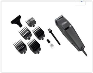 Máquina de Cortar Cabelo Wahl Easy Cut com 5 Pentes - Preta | R$ 56