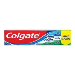 Creme dental Colgate 180g   R$3,99